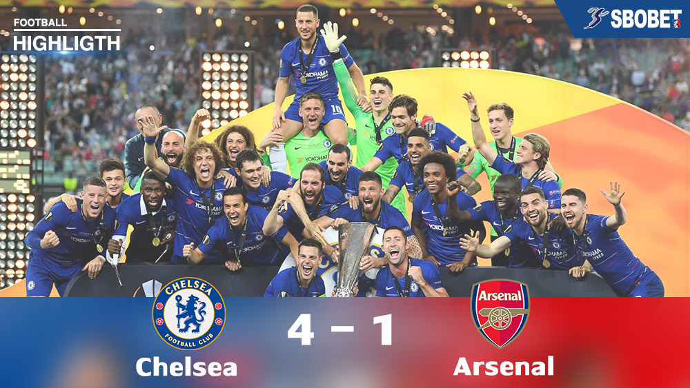 highlight Chelsea 4 - 1 Arsenal