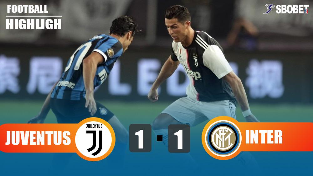 Juventus 1-1 Inter