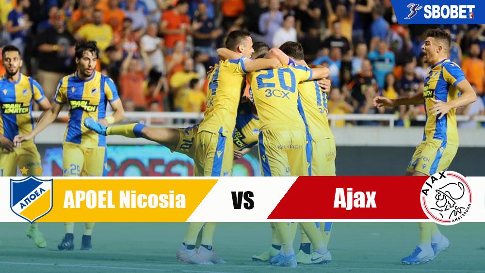 วิเคราะห์บอล คู่บอลเด็ดวันนี้ ทีเด็ดบอลเต็ง อโปเอล นิโคเซีย VS อาแจกซ์