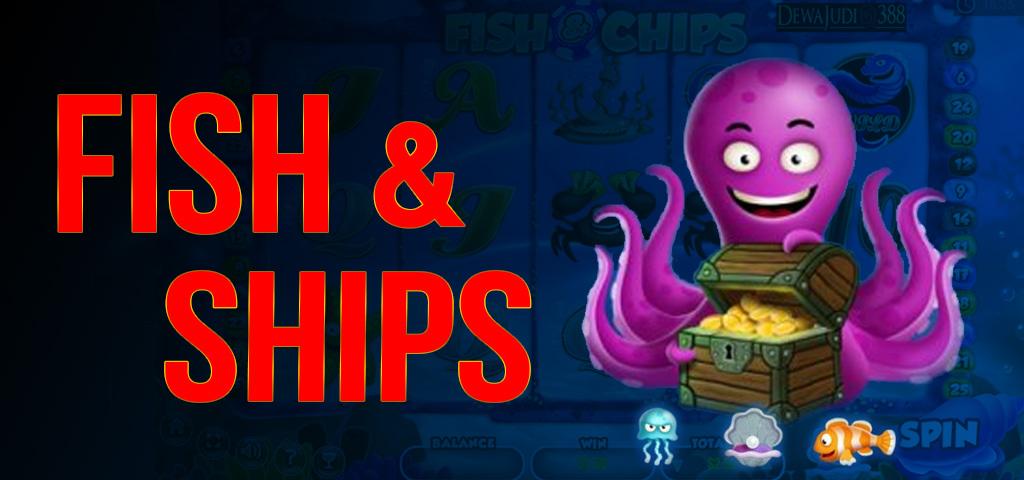 สล็อต FISH & CHIPS พนันสล็อตออนไลน์ที่มีรูปแบบการเดิมพันที่ดีและสวยงาม