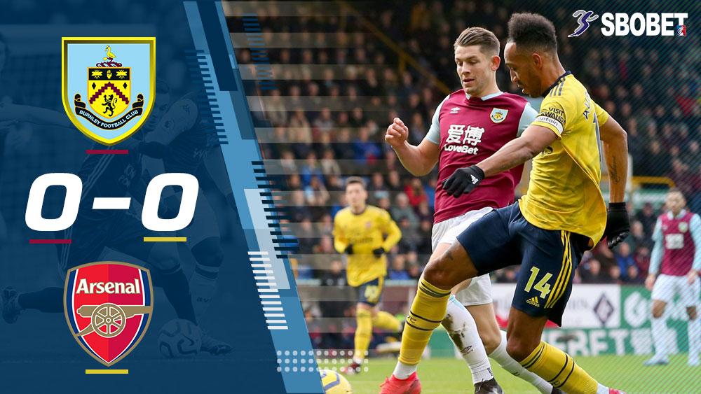 เบิร์นลี่ย์ 0-0 อาร์เซน่อล ดูบอลย้อนหลัง พรีเมียร์ลีกอังกฤษ (Premier League)