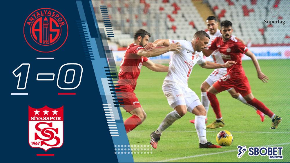 อันตัลยาสปอร์ 1-0 ชีวาสสปอร์ ผลบอลเมื่อคืน ตุรกี ซุปเปอร์ลีก