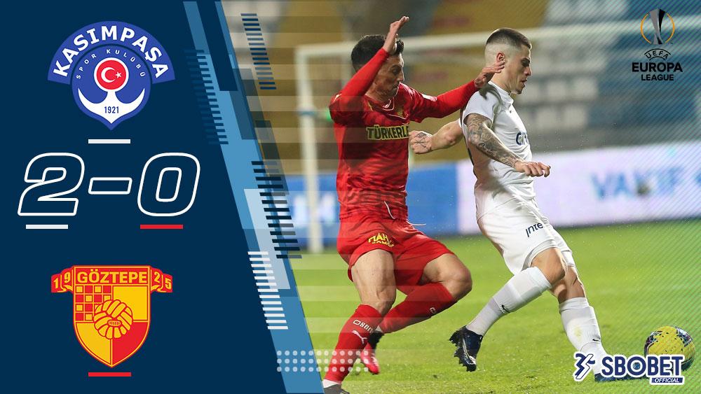 คาซิมปาซ่า 2-0 กัซเทป ผลบอลเมื่อคืน ตุรกี ซุปเปอร์ลีก