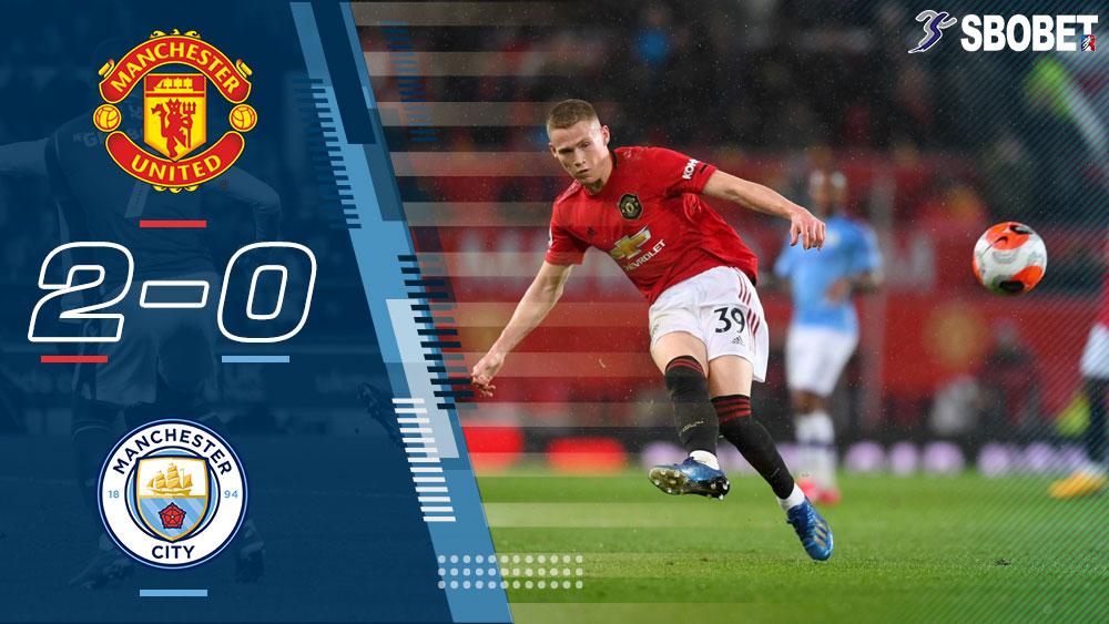 แมนเชสเตอร์ ยูไนเต็ด 2-0 แมนเชสเตอร์ ซิตี้ ผลบอลเมื่อคืน พรีเมียร์ลีกอังกฤษ