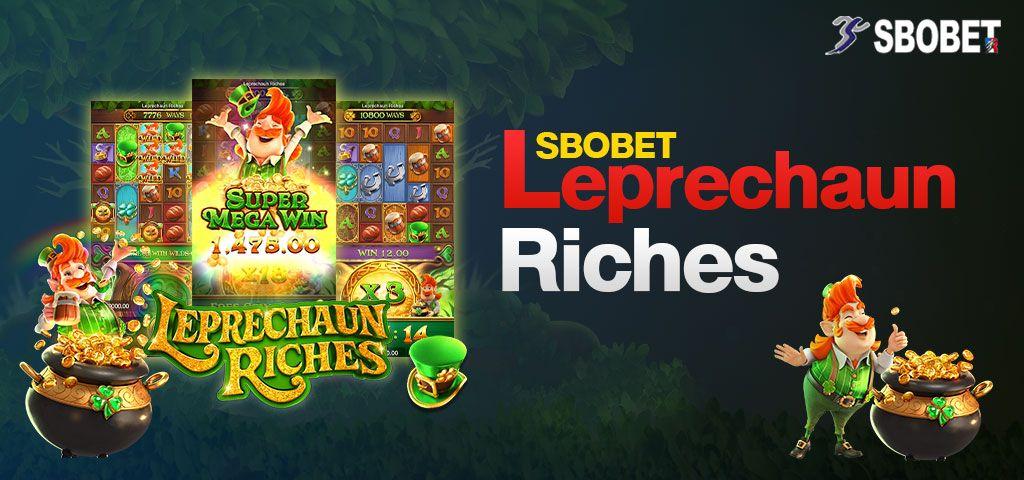 สล็อต LEPRECHAUN RICHES เกมสล็อตสมบัติภูติจิ๋วรูปแบบใหม่ SBOBET