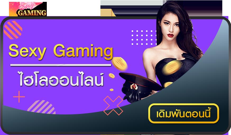 ไฮโลออนไลน์ SEXY GAMING เกมพนันพื้นบ้านยอดนิยม ที่แทงได้บนสโบเบ็ต