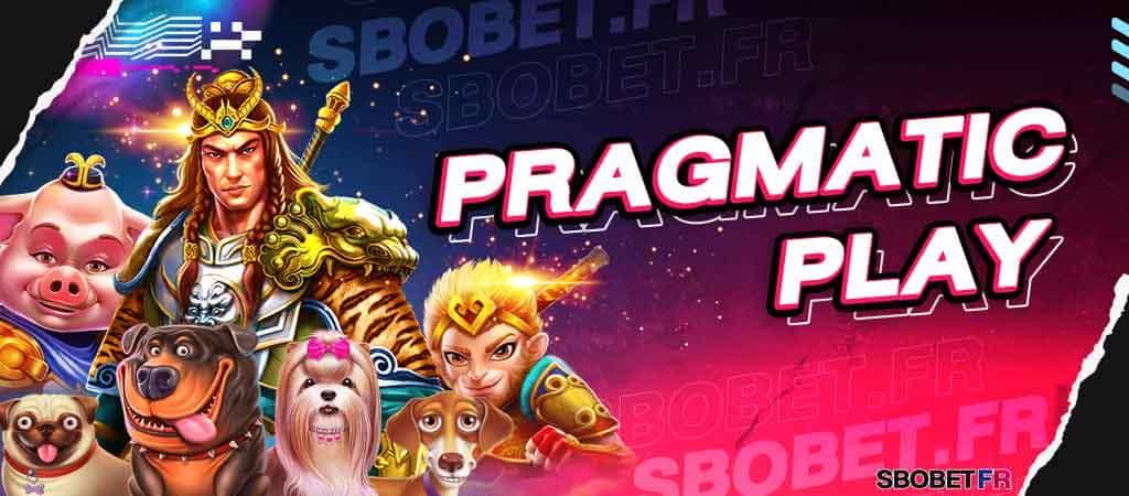 PRAGMATIC PLAY (แพร็กเมติกเพลย์) ค่ายสล็อตน้องใหม่เว็บ SBOBET